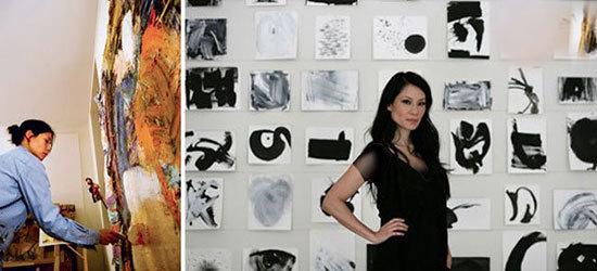 سلبریتی ها و نقاشی,اخبار هنرمندان,خبرهای هنرمندان,اخبار بازیگران