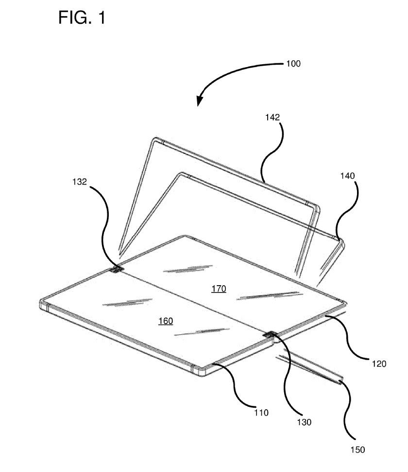 حق اختراع تبلت تاشو مایکروسافت Centaurus