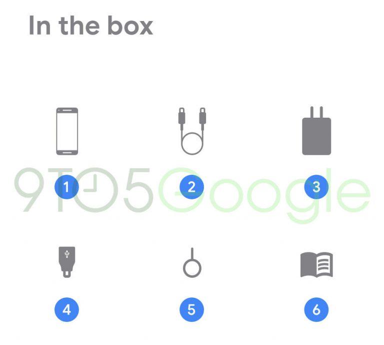 محتویات جعبه پیکسل ۴