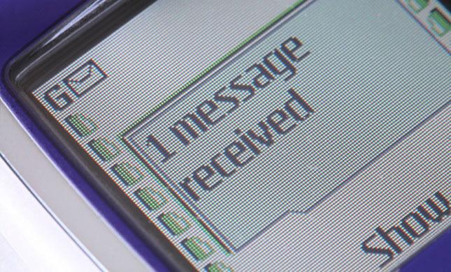 پیامک SMS