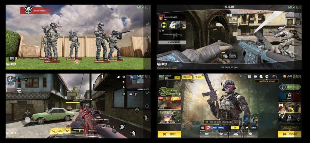 تصاویری از اجرای بازی Call of Duty و نرخ فریم ثابت 60 فریم