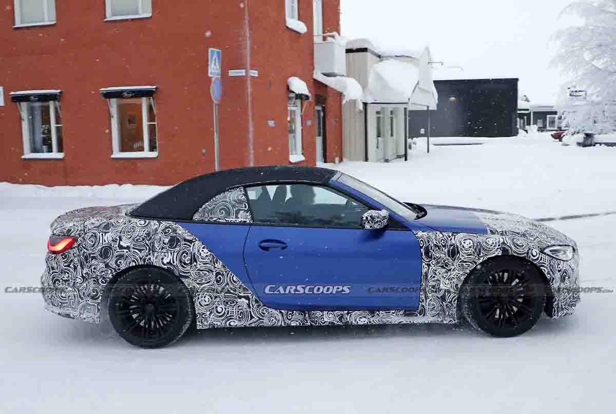 2022 BMW M4 کانورتیبل